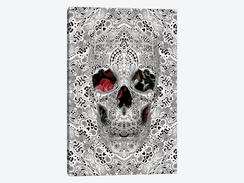 Lace Skull II by Ali Gulec 1-piece Canvas Artwork
