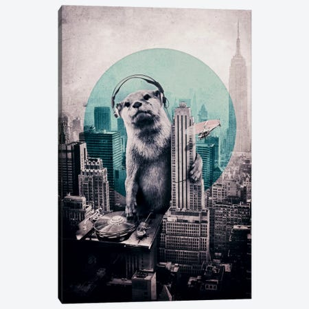 DJ Canvas Print #AGC6} by Ali Gulec Canvas Art Print
