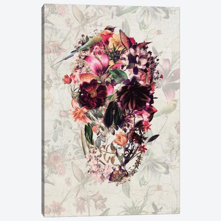 New Skull Canvas Print #AGC77} by Ali Gulec Canvas Art Print