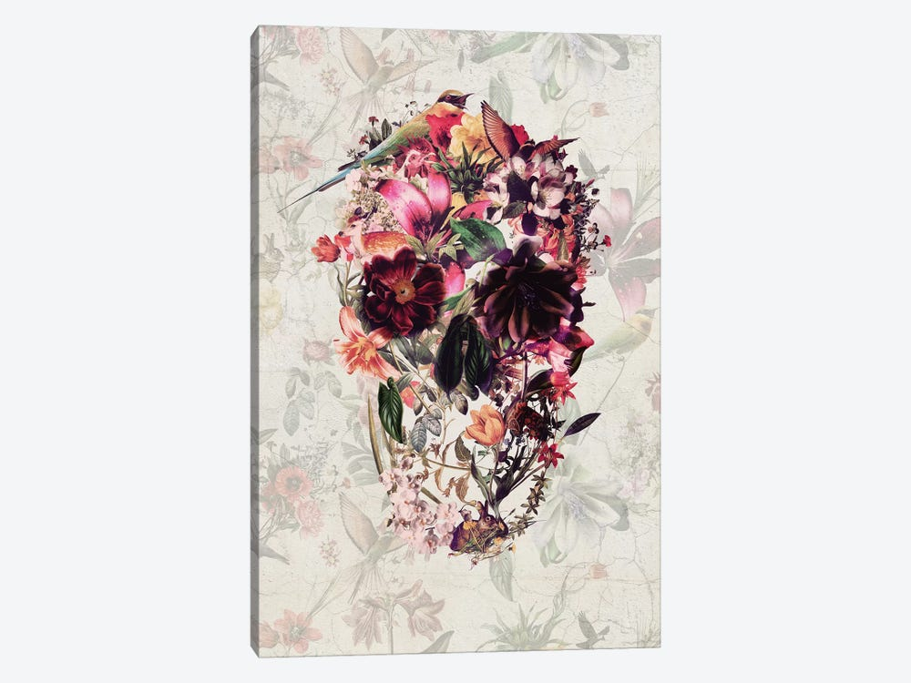 New Skull by Ali Gulec 1-piece Canvas Artwork