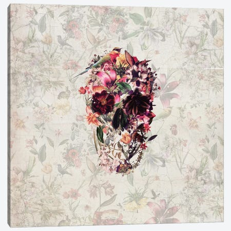 New Skull, Square Canvas Print #AGC78} by Ali Gulec Canvas Wall Art