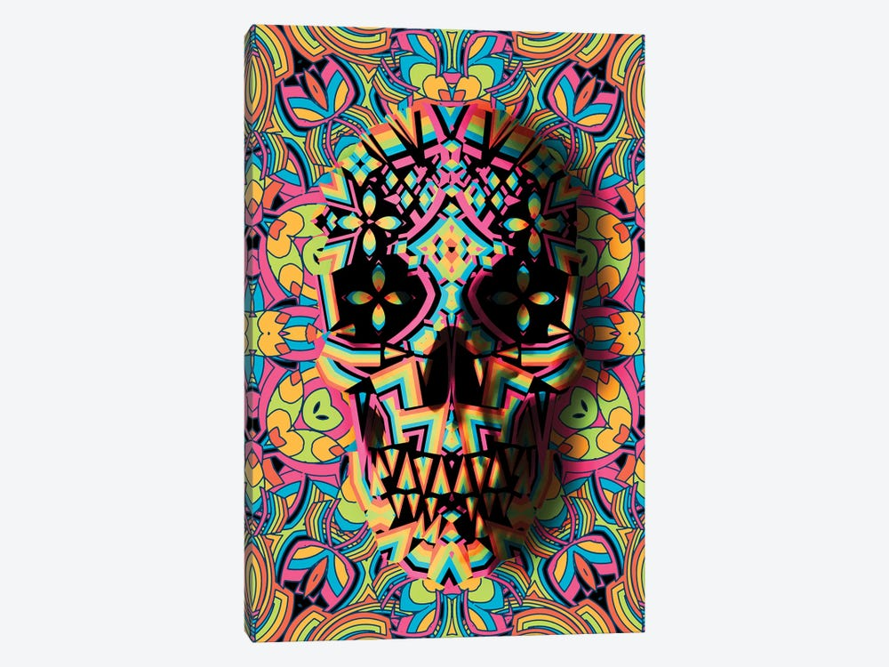 Skull Geo by Ali Gulec 1-piece Canvas Art Print