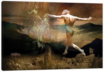 A Link To The Unmanifested Canvas Art Print