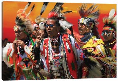 American Indian Celebration Canvas Art Print