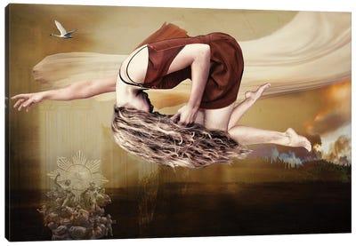 Evolutionary Leap Canvas Art Print
