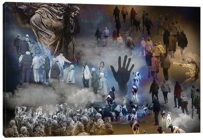 Into Heaven -  Asylum Seakers Canvas Art Print
