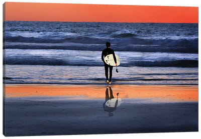 Leaving It All Behind Canvas Art Print