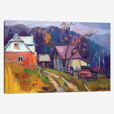 Childhood Canvas Print #AGG100} by Anastasiia Grygorieva Canvas Wall Art