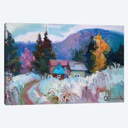 Frosty Canvas Print #AGG114} by Anastasiia Grygorieva Canvas Art