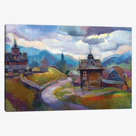 Vorohta In Carpathion Canvas Print #AGG115} by Anastasiia Grygorieva Canvas Artwork