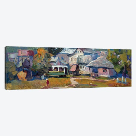 Kolochava In Carpathion Canvas Print #AGG119} by Anastasiia Grygorieva Canvas Print