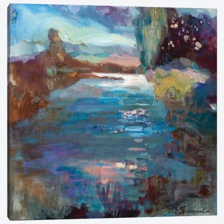 Pond In Latvia Canvas Print #AGG121} by Anastasiia Grygorieva Canvas Art