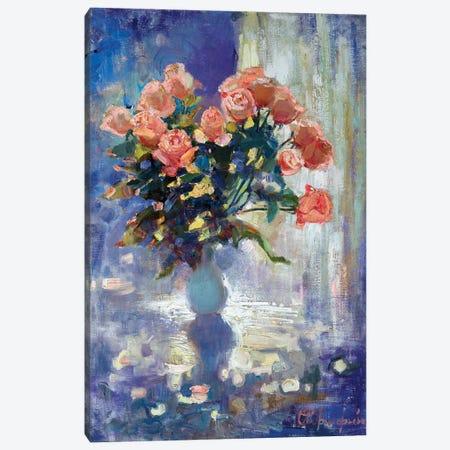 Roses In Winter Canvas Print #AGG132} by Anastasiia Grygorieva Canvas Print