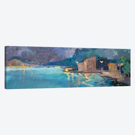 Bay Canvas Print #AGG140} by Anastasiia Grygorieva Canvas Wall Art