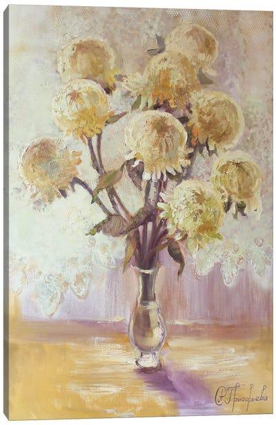 9 Chrysanthemums Canvas Art Print