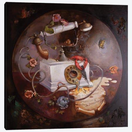 Collective Letter Canvas Print #AGG1} by Anastasiia Grygorieva Canvas Artwork