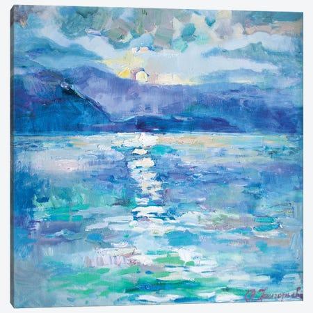 50 Shades Of Sea Canvas Print #AGG48} by Anastasiia Grygorieva Art Print