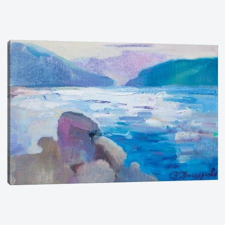 Coast In Montenegro Canvas Print #AGG49} by Anastasiia Grygorieva Art Print