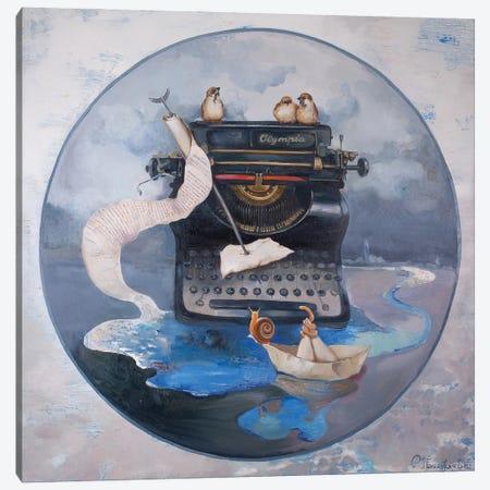 Offical Letter Canvas Print #AGG4} by Anastasiia Grygorieva Canvas Print