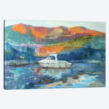 To The Pier Canvas Print #AGG53} by Anastasiia Grygorieva Canvas Wall Art
