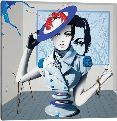 Salvador Twiggy Canvas Art Print