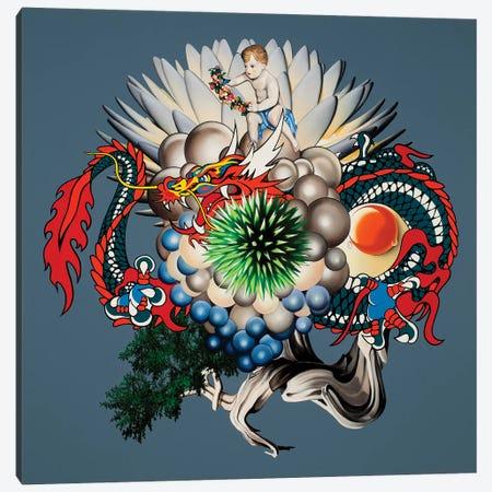 Dragon Canvas Print #AGL35} by Alain Magallon Canvas Art