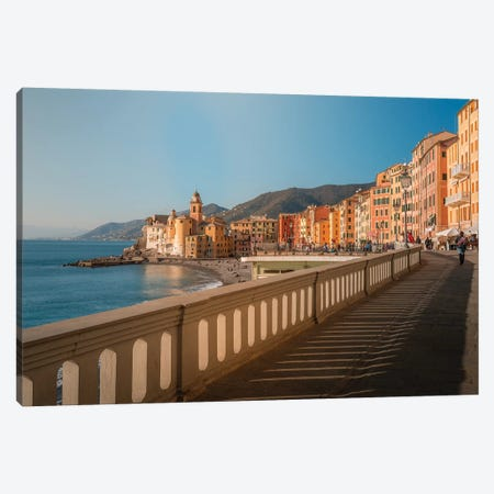 Camogli IV Canvas Print #AGN15} by Andrea Dall'Agnola Canvas Wall Art