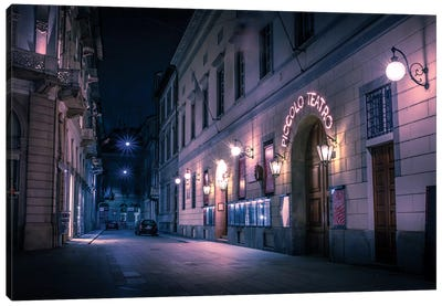Cinematic Milan Canvas Art Print