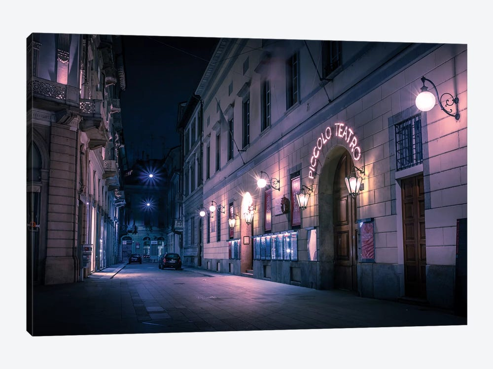 Cinematic Milan by Andrea Dall'Agnola 1-piece Canvas Wall Art