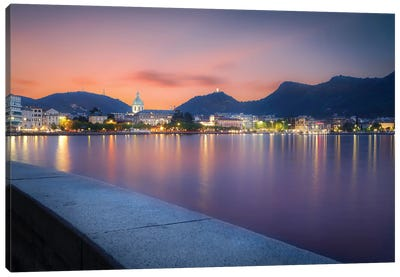 Como II Canvas Art Print