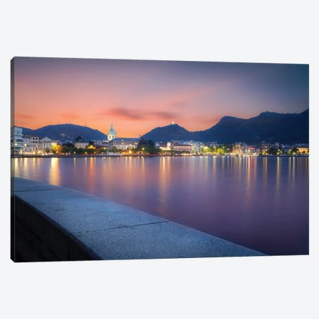 Como II 3-Piece Canvas #AGN18} by Andrea Dall'Agnola Canvas Art Print