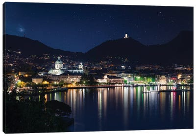 Como III Canvas Art Print