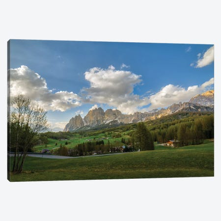 Cortina Panorama Canvas Print #AGN20} by Andrea Dall'Agnola Canvas Wall Art