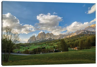 Cortina Panorama Canvas Art Print