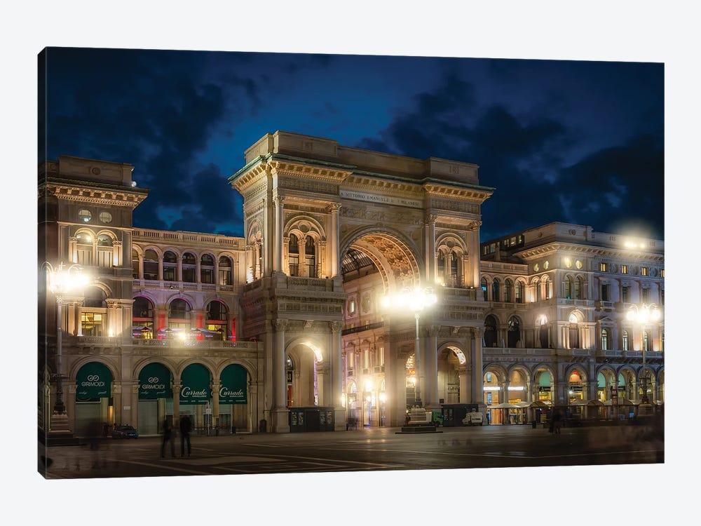 Galleria Vittorio Emanuele II by Andrea Dall'Agnola 1-piece Canvas Art