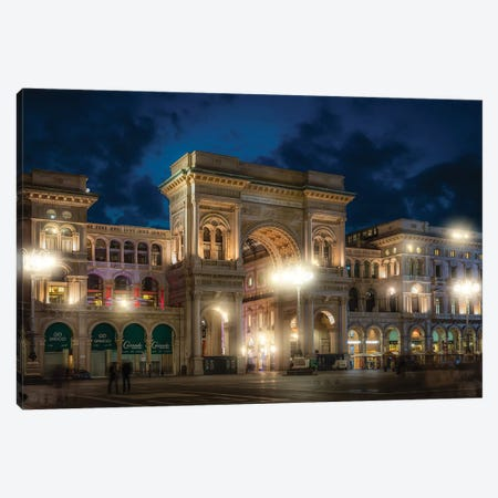 Galleria Vittorio Emanuele II Canvas Print #AGN21} by Andrea Dall'Agnola Canvas Wall Art