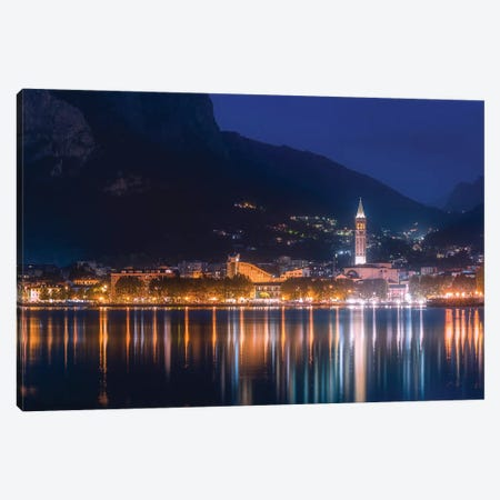 Lecco High Reflections Canvas Print #AGN23} by Andrea Dall'Agnola Canvas Wall Art