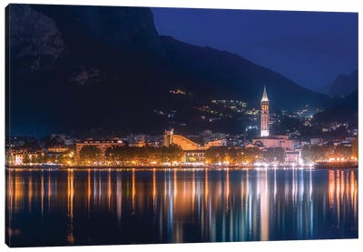 Lecco High Reflections Canvas Art Print