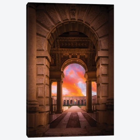 Mantova Architecture Canvas Print #AGN25} by Andrea Dall'Agnola Canvas Art Print