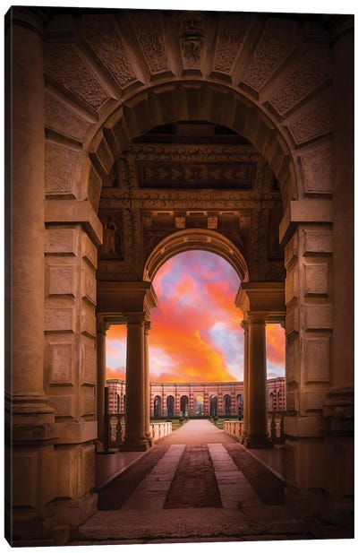 Mantova Architecture Canvas Art Print