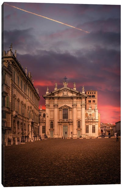 Mantova On Fire Canvas Art Print