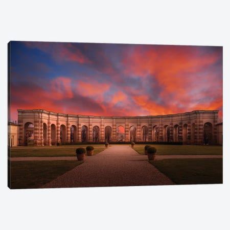 Palazzo Te, Mantova Canvas Print #AGN34} by Andrea Dall'Agnola Canvas Wall Art