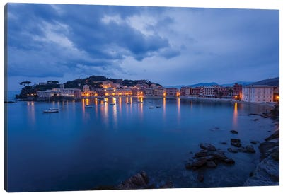 Sestri Blue Hour I Canvas Art Print