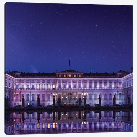 Starry Night In Monza Canvas Print #AGN39} by Andrea Dall'Agnola Art Print