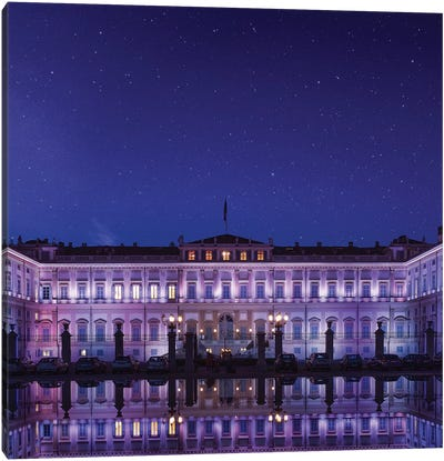 Starry Night In Monza Canvas Art Print