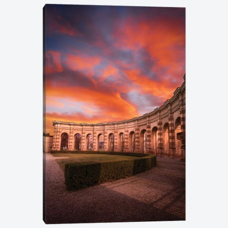 Sunset At Palazzo Te Canvas Print #AGN41} by Andrea Dall'Agnola Canvas Art