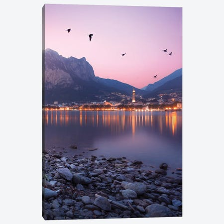 Sweet Sunset Canvas Print #AGN44} by Andrea Dall'Agnola Art Print