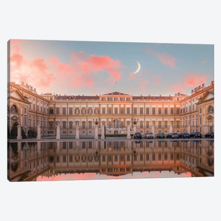 Villa Reale, Monza Canvas Print #AGN46} by Andrea Dall'Agnola Canvas Art Print