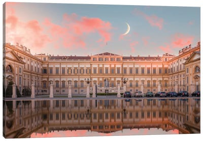 Villa Reale, Monza Canvas Art Print