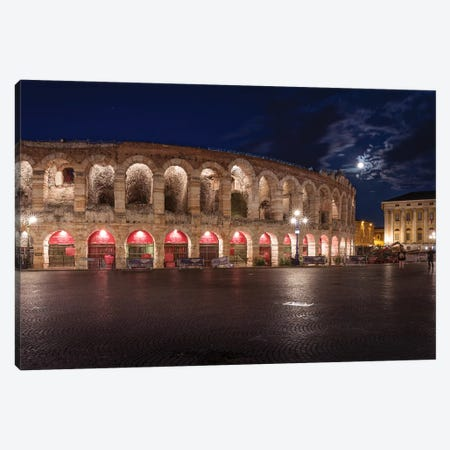 Arena Di Verona Canvas Print #AGN48} by Andrea Dall'Agnola Canvas Wall Art